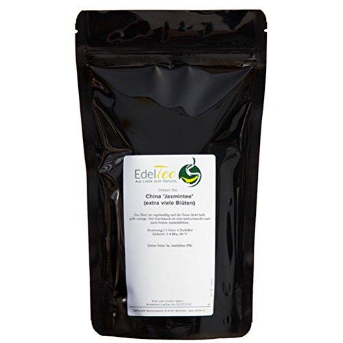 Jasmin Tee (extra viele Blüten) (Grüner Tee) - 100g