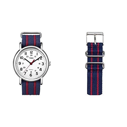 Reloj Timex Unisex T2N7479J + Correa para Reloj TW7C03300
