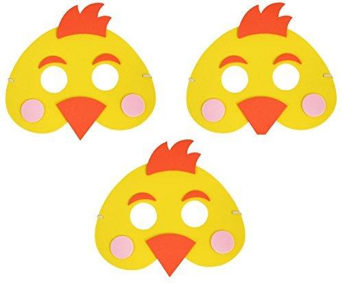 Schaumstoff Maske Kinder Parade Kostüm (Huhn Maske Für Kinder)