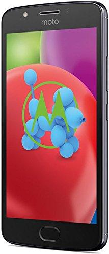 Motorola E4 Smartphone débloqué LTE (Ecran : 5 Pouces - 16 Go - Nano-SIM - Android) Gris