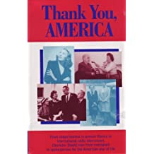 Thank You, America (Biography, Autobiography, Memoirs Series)