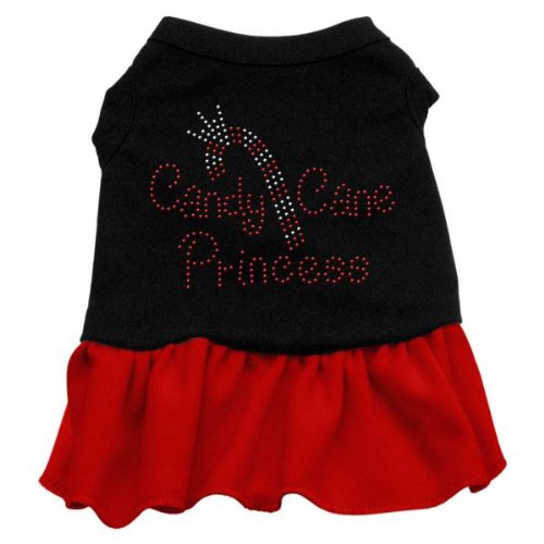 Mirage Candy Cane Princess Strass PET Kleid (Kleid Candy Cane)