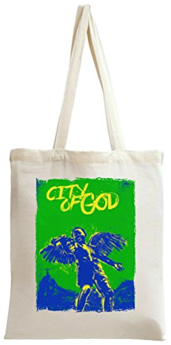city of god movie poster Tote Bag -