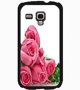 ColourCraft beautiful Rose Bouquet Design Back Case Cover for SAMSUNG GALAXY S3 MINI I8190
