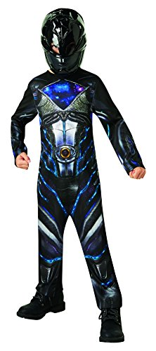 Rubie's 3630715 - Black Power Rangers 2017 Classic, Action Dress Ups und Zubehör, M