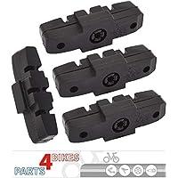 P4B Power Almohadillas de Freno para Magura Hidráulico de Freno HS11/HS22/HS24/HS33/HS 33RE/HS33R Urban/HS33R Trial/HS33R firmtech/HS33R HSI - 2Pares (= 4Unidades) - Negro