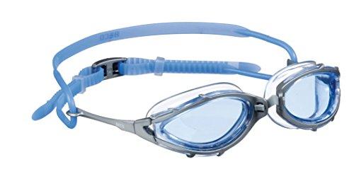 Beco Sydney Schwimmbrille, Grau/Blau, One Size