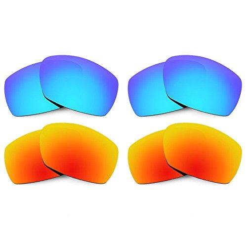 Revant Ersatzlinsen für Smith Dockside Polarisiert 4 Paar Kombipack K022