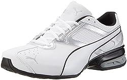 Puma Herren Tazon 6 Fm Laufschuhe, Weiß (Puma White-puma Silver-puma Black 01), 40 Eu