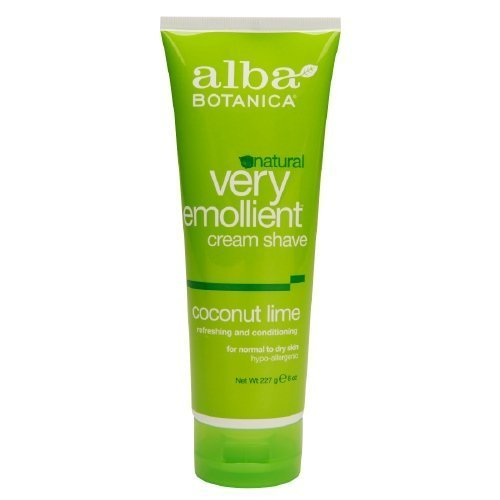 all-natural-alba-botanica-natural-very-emollient-cream-shave-coconut-lime-8-oz-pack-of-1-by-alba-bot