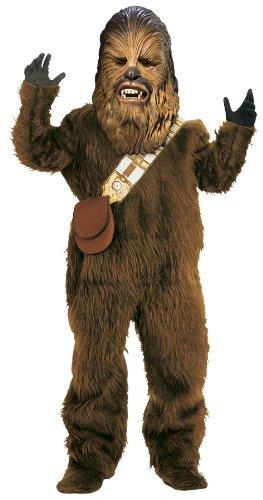 Dlx Kinder Kostüm - ru82019lg Chewbacca Dlx Wookie Polyester Kind