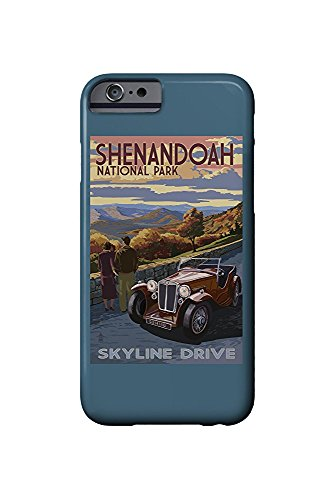 Shenandoah National Park, Virginia - Skyline Drive (iPhone 6 Cell Phone Case, Slim Barely There) - Skyline Drive National Park