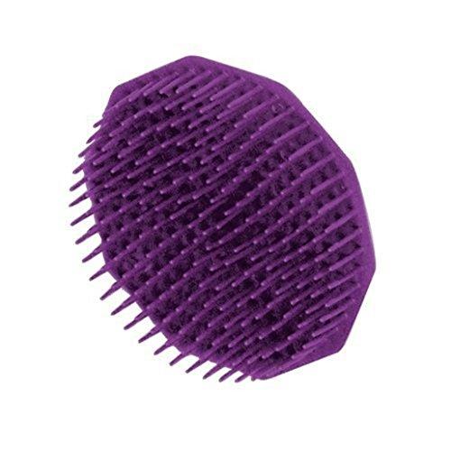 Silikon Kopfhaut Massager Pinsel Kamm Upxiang Shampoo Kopfhaut Dusche Körper Waschen Haar Massage (1pc) -