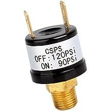 MagiDeal Interruptor de Presión de Aire 90PSI-120PSI 12V para Cuerno de Aire Tren Compresores