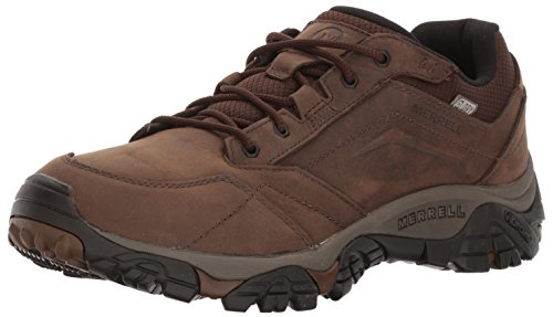Merrell Moab Adventure Lace Waterproof, Zapatillas de Senderismo Hombre, Marrón Dark Earth, 43
