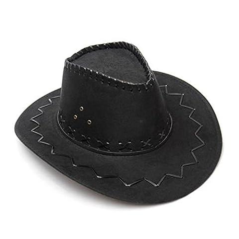 Adulte Fancy Party Dress - Rechercher Suede Cowboy Hat Westerns Wild West
