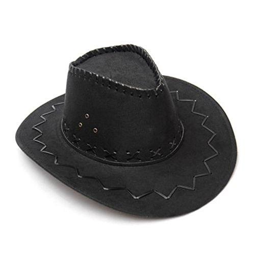 der Look Cowboy Hut Wild West Western Sonntag sollst stetsons Fancy Kleid Party (Farbe Passt Kostüme)