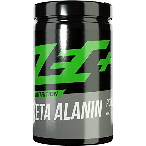 #ZEC+ BETA ALANIN Pulver Drink | reines Beta Alanin Pulver für größere Carnosin-Speicher | mehr Kraft | mehr Ausdauer | mehr Wiederholungen | 500g#