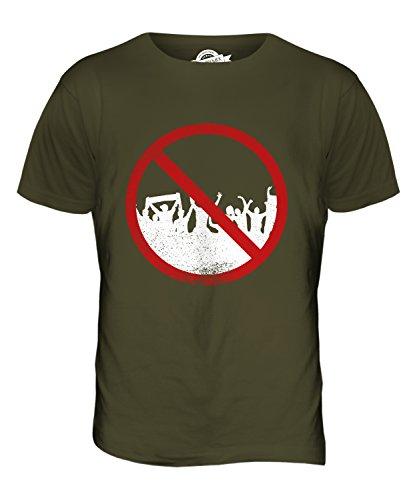 CandyMix Agoraphobie Herren T Shirt Khaki Grün