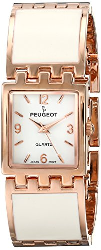 Peugeot Women's 7041WRG Analog Display Japanese Quartz Rose Gold Watch