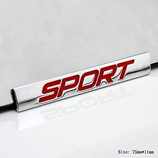 E830 Sport rot Metall Emblem Zeichen Badge auto Abziehbild aufkleber 3D Plakette Car Sticker