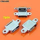 Ochoos 7-poliger 11-poliger Micro-USB-Klinkenbuchse für Samsung Galaxy S7 G9300 G930F für S7edge G9350 G935F Handy-Ladeanschluss