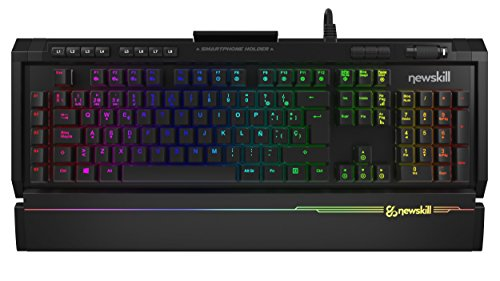 Newskill Aura - Teclado mecánico gaming RGB Estructura