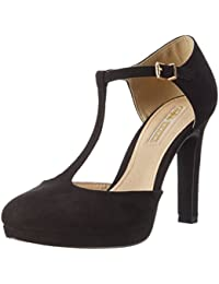 Buffalo Damen H748a-3 S0003a Imi Suede Pumps