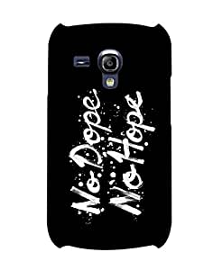 Pick Pattern Back Cover for Samsung I8200 Galaxy S III mini