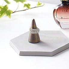 Rosegold Ringkegel Aus Beton Atelier Ideco Valentinstag Geschenk Idee
