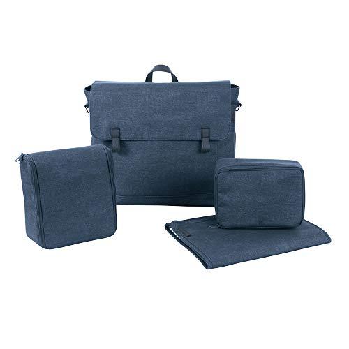 Maxi Cosi Modern Bagpraktische Wickeltasche mit vielen extras, Thermobox, Wickelunterlage, Thermobox, Kulturtasche, Baby-Tasche, Windel-Tasche, nomad blue