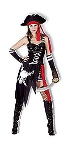 Humatt Perkins - Disfraz de pirata para mujer (51099)