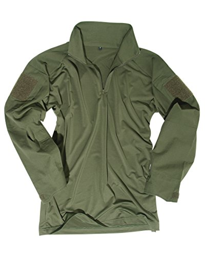 Mil-Tec Feldhemd Tactical Oliv size 3XL (Erwachsene Grün T-shirt Military)