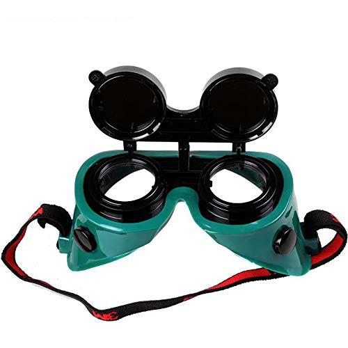TYI 2Pcs Premium Flip-Up-Stil Schweißen und Brenner Schutzbrille, Anti-Glare, Schützen Sie die Augen, Verwenden Sie zum Schweißen, Fackeln, Hartlöten Schneiden von - Fabrik Schnelle Kostüm