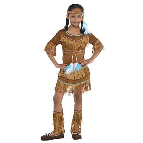 Amscan Cowboys und Indianer Party Dream Catcher Schönheit Kostüm (4Stück)