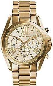 ساعة برادشو كرونوغراف 43 ملم للنساء من مايكل كورس
