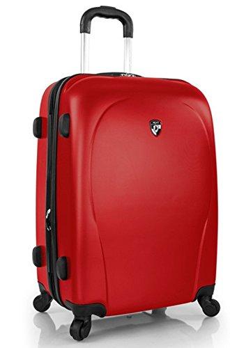 ... 50% SALE ... PREMIUM DESIGNER Hartschalen Koffer - Heys Core XCase Spinner Rot - Trolley mit 4 Rollen Medium (Spinner Xcase)