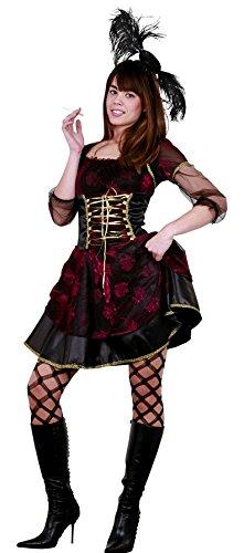 DISFRAZ SALOON GIRL TALLA M-L (Salon Girl Kostüme)