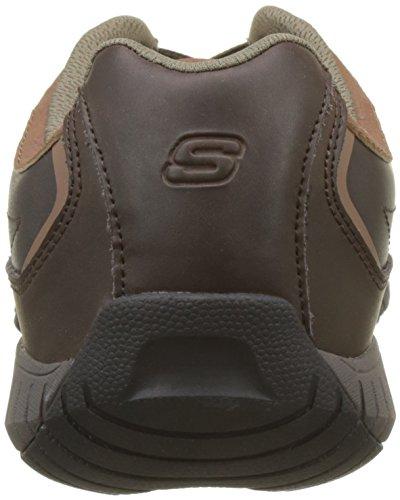 Skechers Sendro-BRUSCO, Scarpe Running Uomo Marrone (Chocolate)