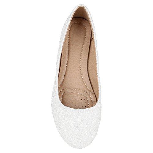 Em Senhoras Flats Bailarinas Luz Couro Lazer Clássicas Branca Óptica De Tamanhos Sapatos Marrom ZfxwnS
