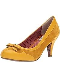 Bettie Page Shoes Bettie Hellblau Pumps, Heels, Rockabilly