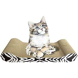 Rascadores para Gatos con Patrón Carton Corrugado Jitong Durable