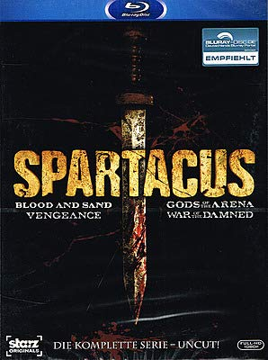 Preisvergleich Produktbild Spartacus - Die komplette Serie Uncut
