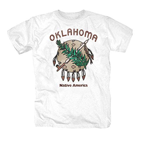 Oklahoma Camiseta blanco XL