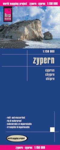 Landkarte: Zypern 1:150 000