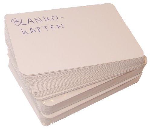 2er-Set Spielkarten blanko, je 36 unbedruckte Karten