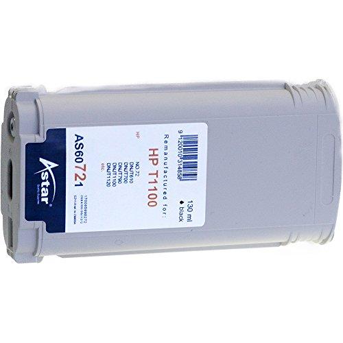 Preisvergleich Produktbild Astar AS60721 Tintenpatrone kompatibel zu HP NO72 C9403A, 130 ml, schwarz