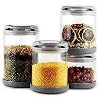 4 set di vetro sigillato serbatoio Set di frutta e