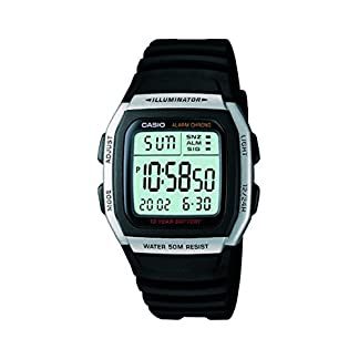 Casio Youth Digital Grey Dial Men's Watch – W-96H-1AVDF (D031)