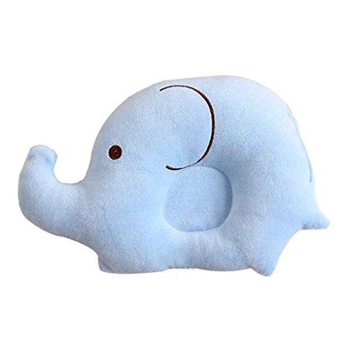 Aiming Bébé Enfant Nouveau-né Enfant en Bas âge Velours Cartoon Elephant Oreiller Sommeil tête Anti-Renversement Coussin #3